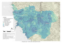 prikaz prve stranice dokumenta Kartografski prikaz 11: Zaštitni aspekt modela pogodnosti prostora