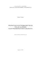 prikaz prve stranice dokumenta Proračun elektromagnetskog polja složenih elektroenergetskih objekata