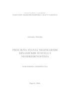 prikaz prve stranice dokumenta Procjena stanja nelinearnih dinamičkih sustava s neodređenostima