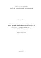 prikaz prve stranice dokumenta Primjena naprednih višeantenskih tehnika u LTE sustavima