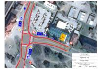 prikaz prve stranice dokumenta Prijedlog rješenja raskrižja Kolodvorske ulice i Ulice Ivana Meštrovića