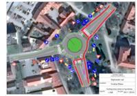 prikaz prve stranice dokumenta Prijedlog rješenja raskrižja na Trgu Mladosti