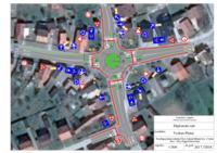 prikaz prve stranice dokumenta Prijedlog rješenja raskrižja Ulice Antuna Mihanovića-Cvjetne ulice-Ulice Grgura Karlovčana